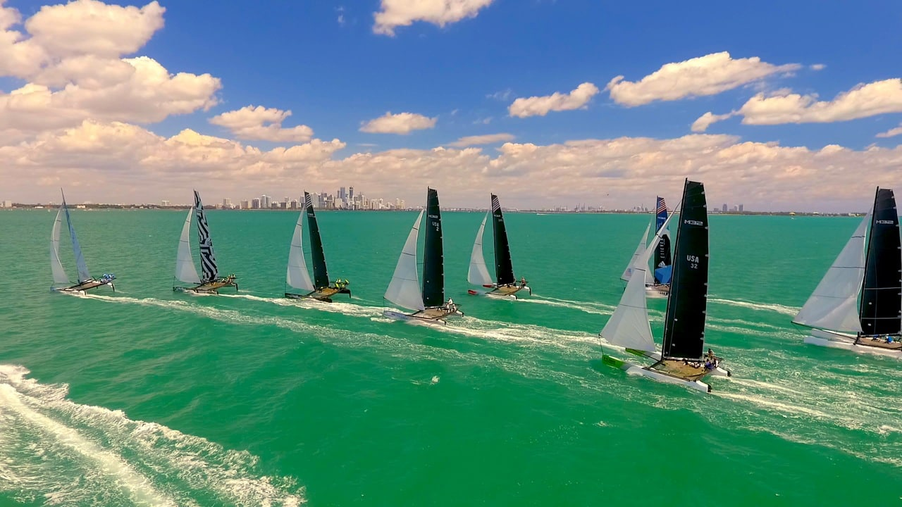 Rev win the double at Miami final in a hotly contested 10-strong fleet