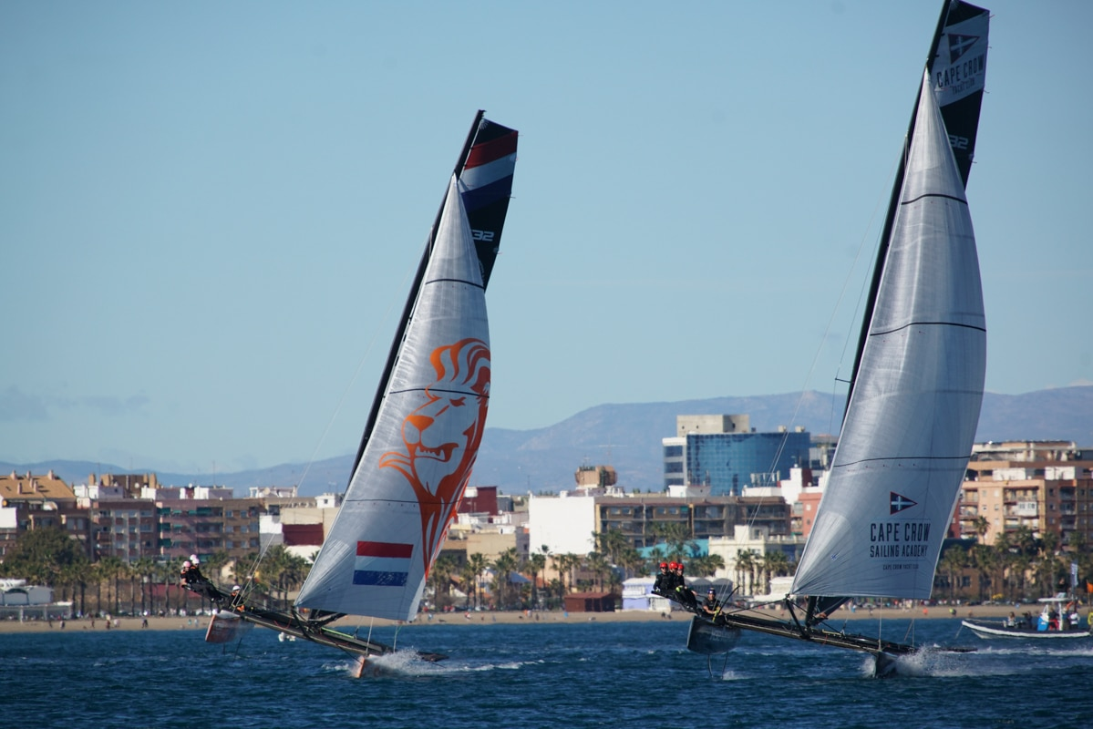 Open Fleet At M32 Valencia Winter Series as World Champions, Rookies and Class Owner all Take Victories