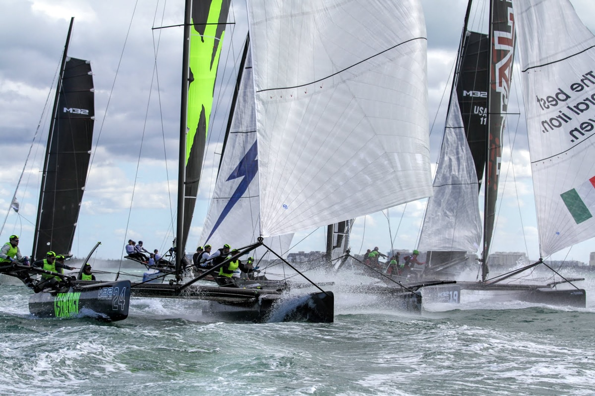 2018 M32 sailing kicks off in Miami